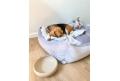 dog blanket DREAM CATCHER champagne grey