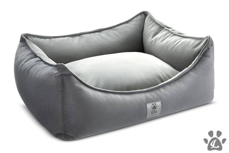 dog bed LITTLE NAP silver duo