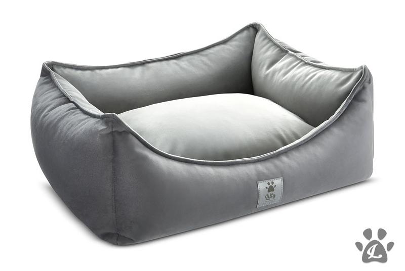 LITTLE NAP dog bed - grey