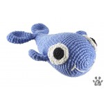 organic dog toy BAZYL whale