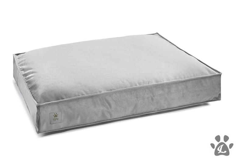 dog cushion COSY silver grey