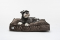 dog cushion COSY silver grey