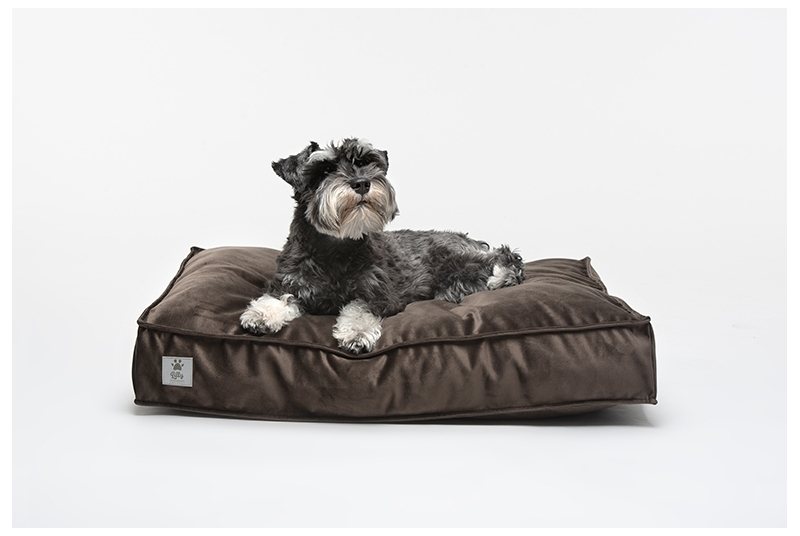 dog cushion COSY chocolate brown