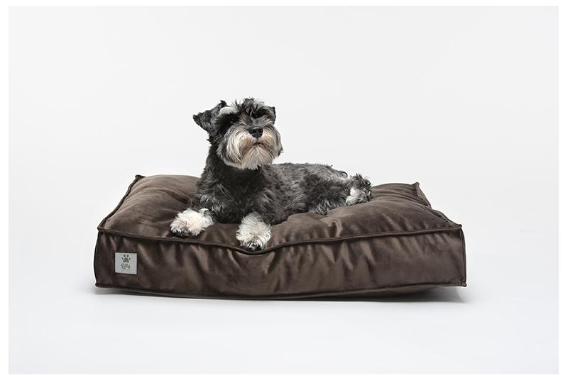 COSY dog cushion - chocolate brown