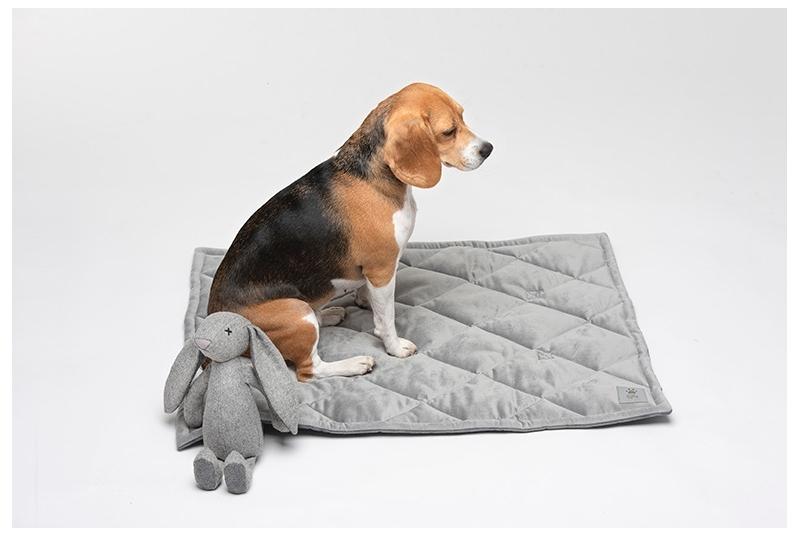 Dog travel mat DREAMY grey