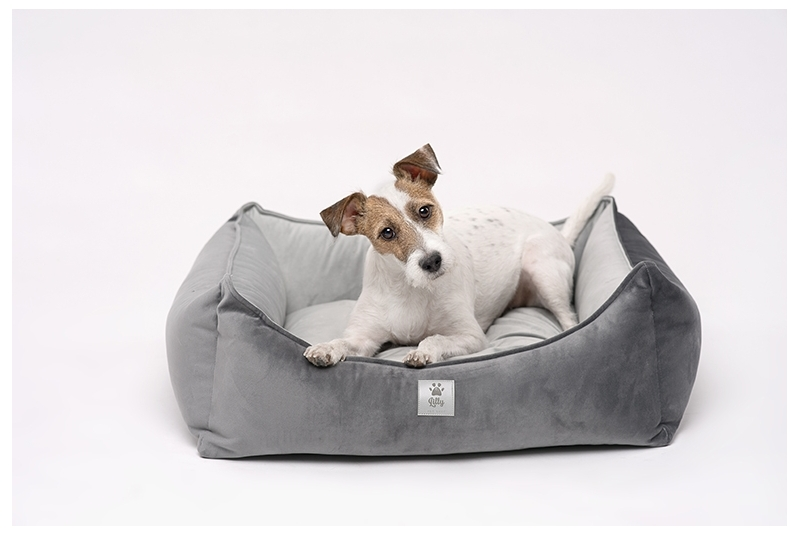 dog bed LITTLE NAP grey