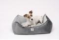 LITTLE NAP legowisko dla małego i średniego psa - grey