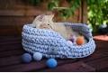 Crochet balls PING PONG pastel