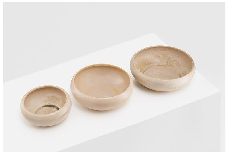 Ceramic dog or cat bowl SAND