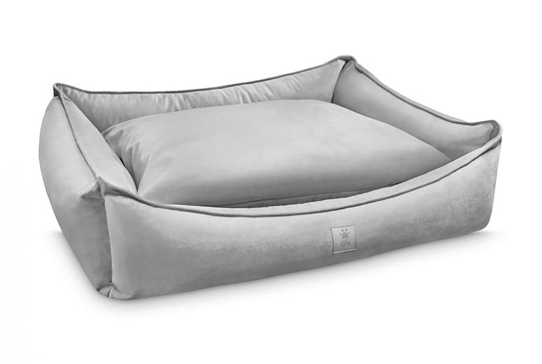 dog bed ROYAL NAP silver grey