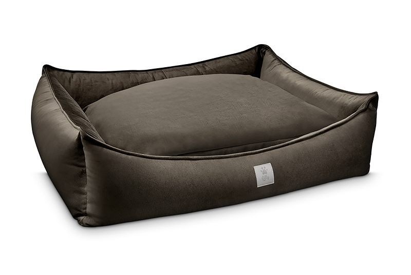dog bed ROYAL NAP chocolate brown